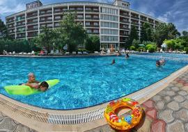 Крым Евпатория  отель с бассейном